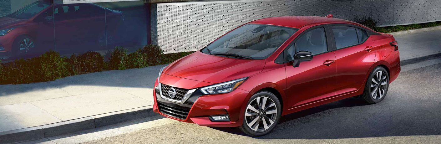 front view of the 2020 Nissan Versa
