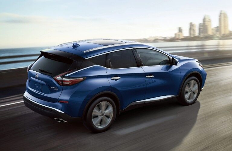 rear view of the 2020 Nissan Murano