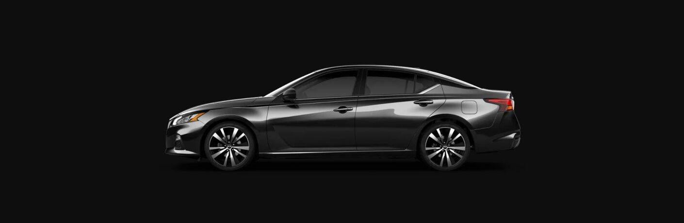 side view of black 2020 Nissan Altima