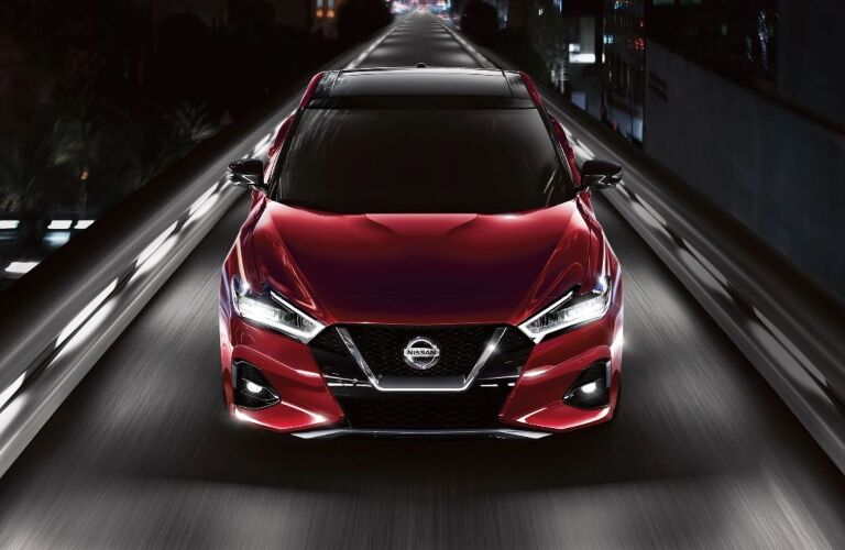 front view of the 2020 Nissan Maxima