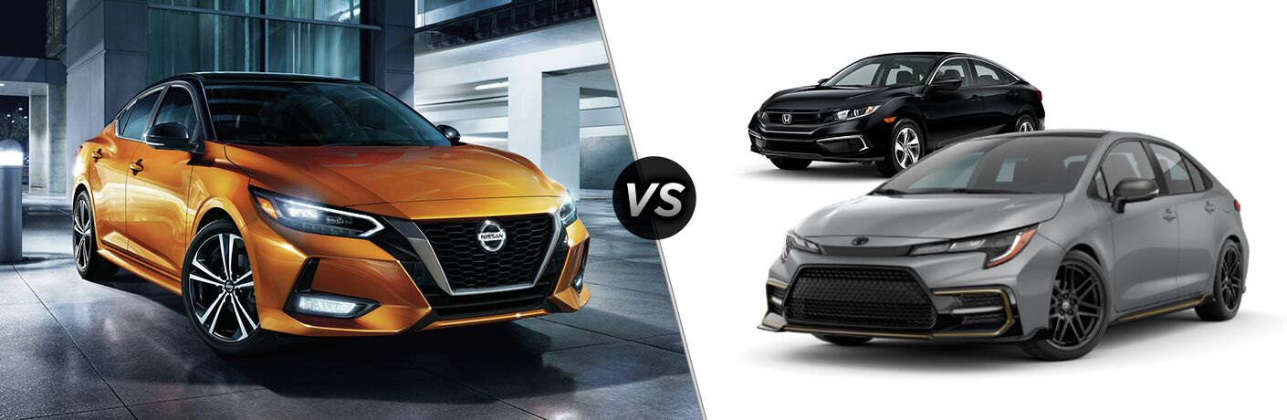 2021 Nissan Sentra VS 2021 Toyota Corolla Sedan