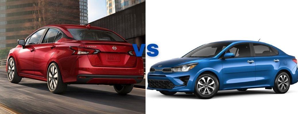 2021 Nissan Versa VS 2021 Kia Rio