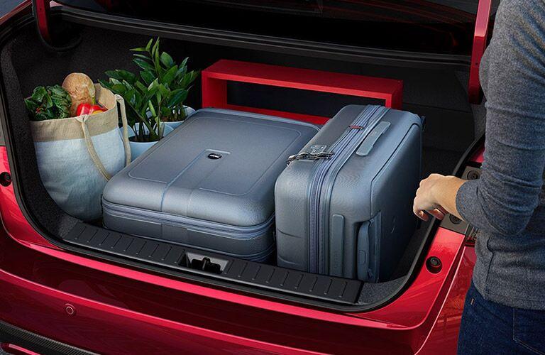 2021 Nissan Versa cargo space