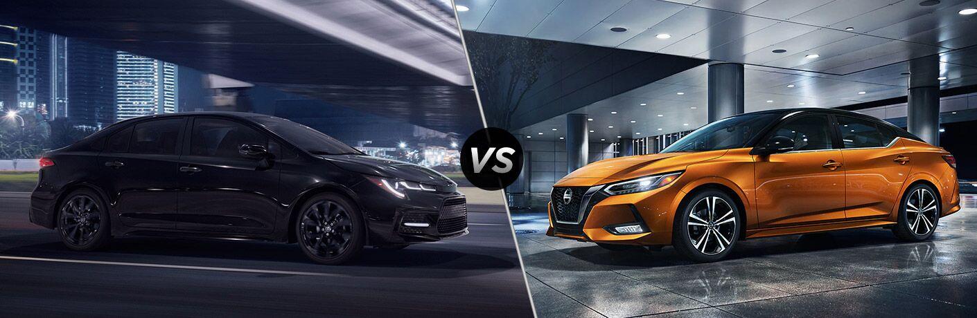 2021 Nissan Versa vs 2021 Toyota Corolla