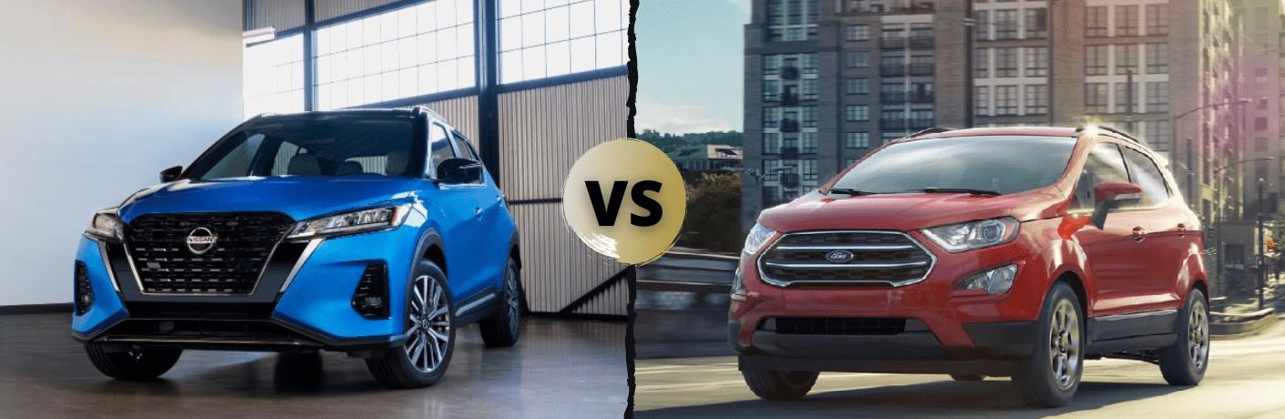 2021 Nissan Kicks VS 2021 Ford EcoSport
