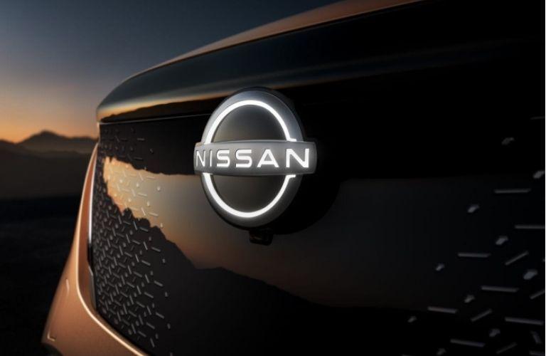 2021 Nissan Ariya grill view