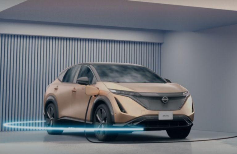 2021 Nissan Ariya charging view
