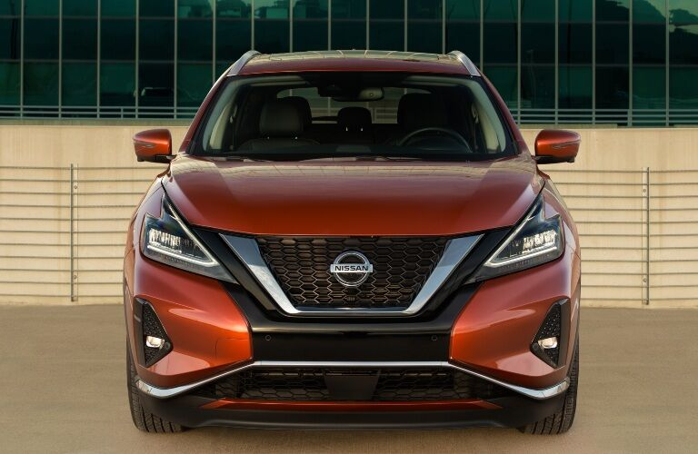front view of the 2021 Nissan Murano
