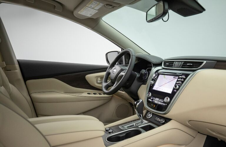 front seats of the 2021 Nissan Murano