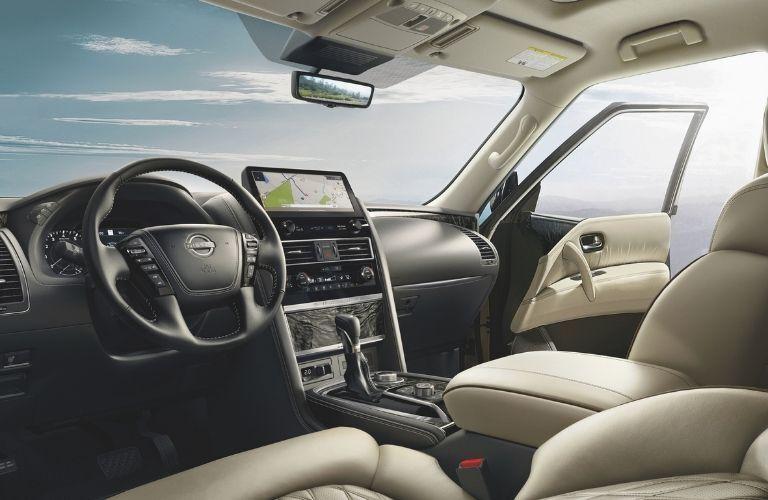 2022 Nissan Armada Interior Dashboard