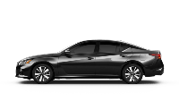 black 2020 Nissan Altima SL