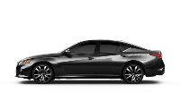 black 2020 Nissan Altima Platinum
