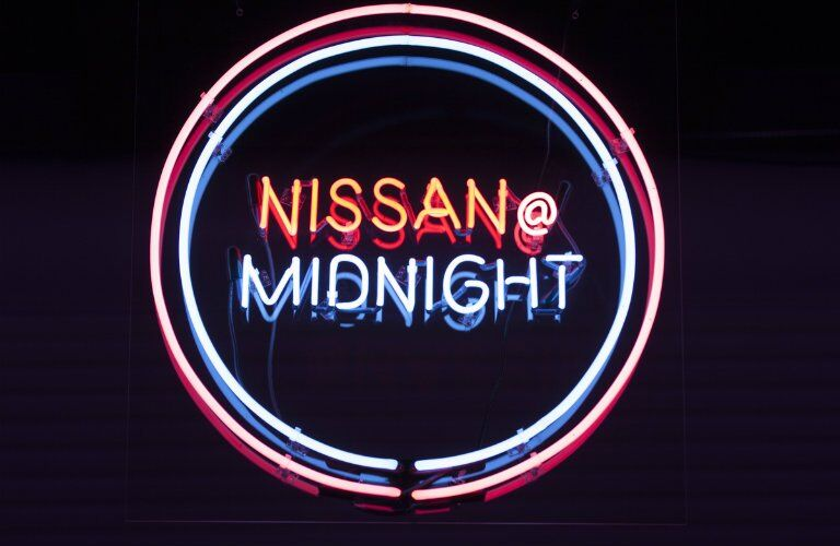 Nissan Midnight Edition Neon Sign