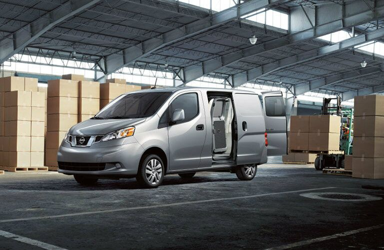 loading options of nissan nv200