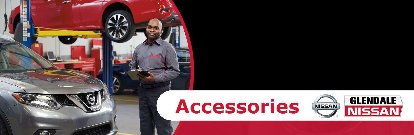 Nissan Genuine OEM Accessories Glendale IL