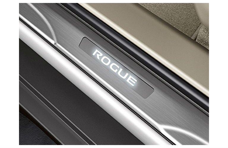 Nissan Rogue Illuminated Kickplate