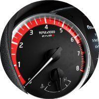 2017 Nissan Sentra Nismo Performance Gauge