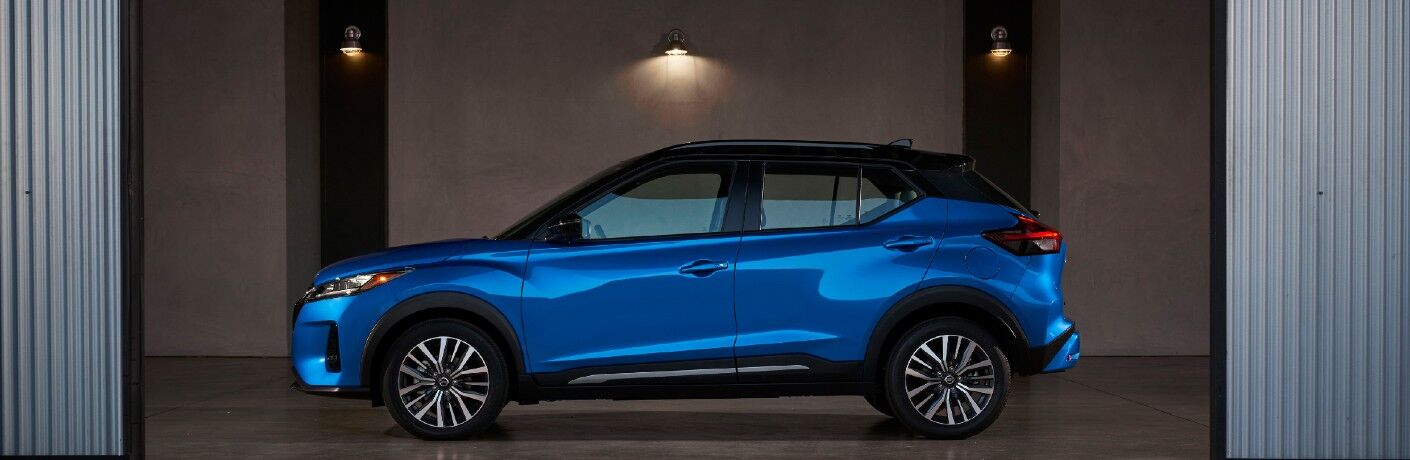 side view of the 2021 Nissan Kicks