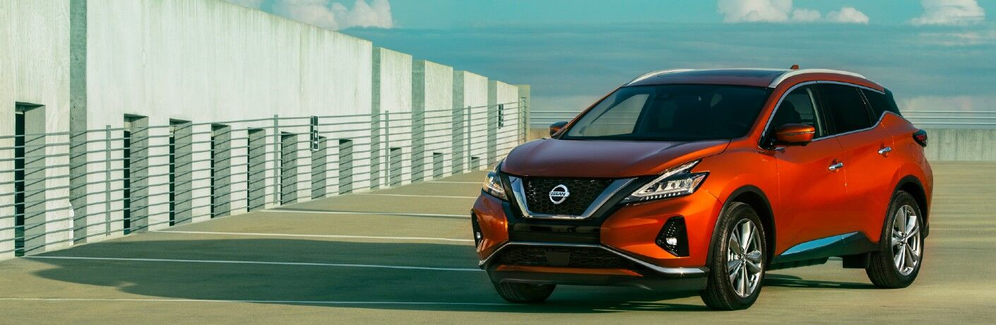 2021 Nissan Murano in parking lot
