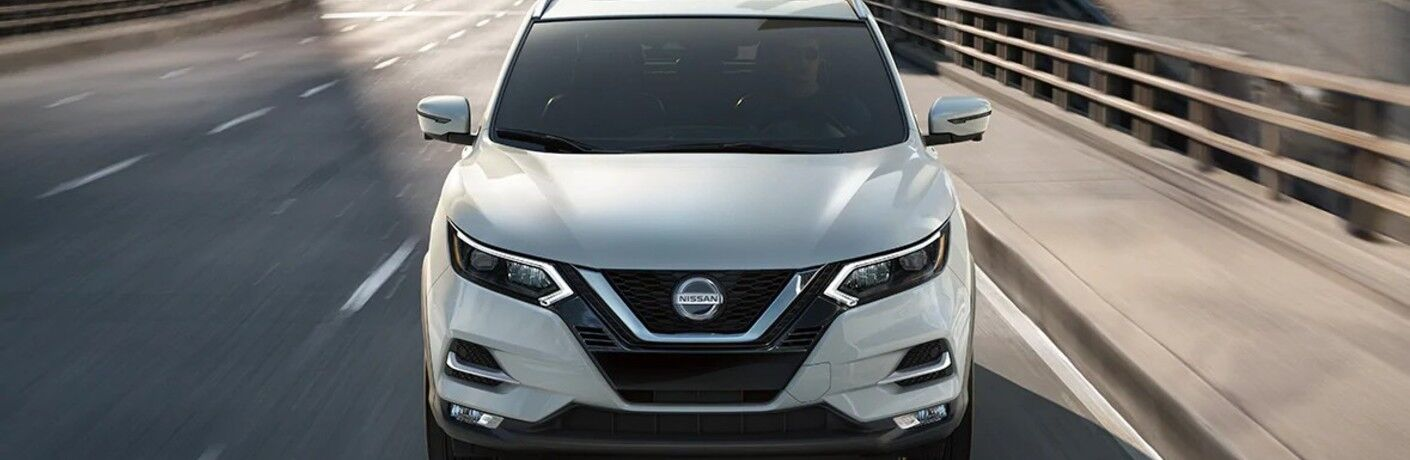 front of 2021 Nissan Rogue Sport