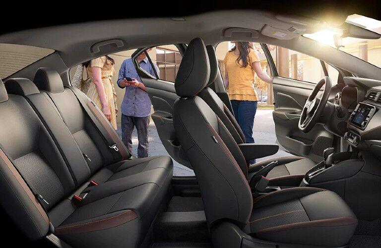 2021 Nissan Versa seating