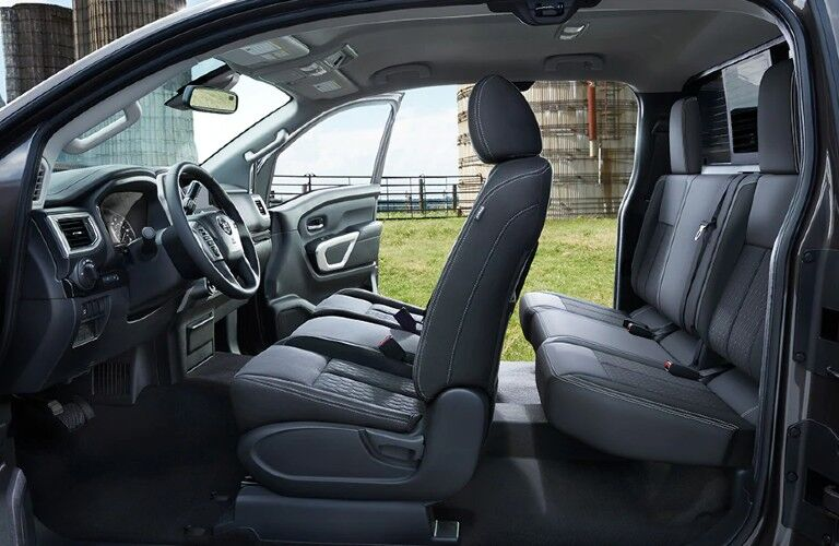 cabin of the 2021 Nissan Titan