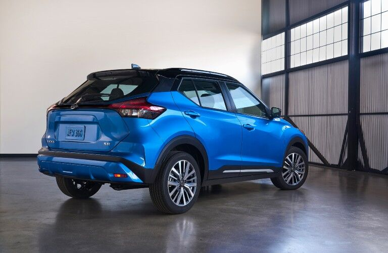 rear view of the 2021 Nissan Kicks