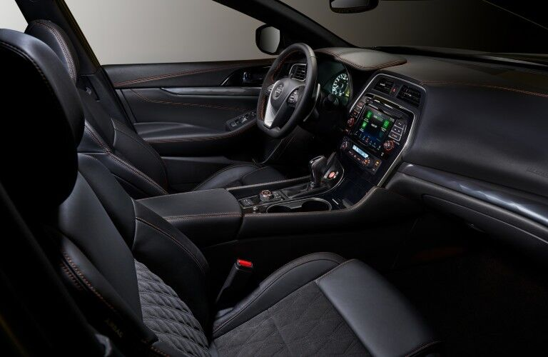 front seats of the 2021 Nissan Maxima