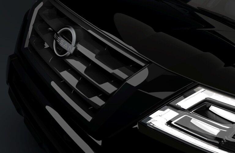 2021 Nissan Armada Midnight Edition grille