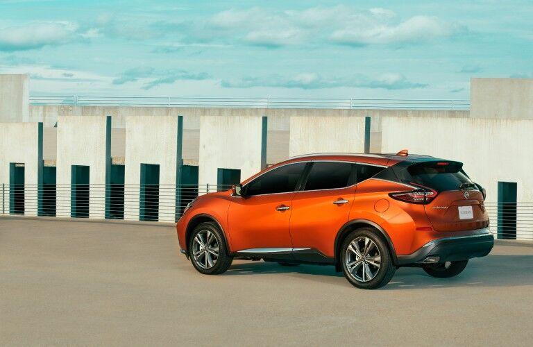 2021 Nissan Murano on parking garage