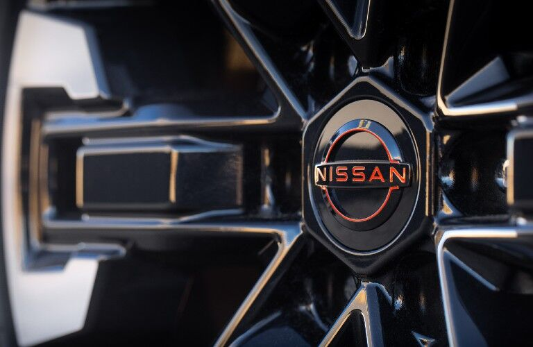 2022 Nissan Frontier front grille badge