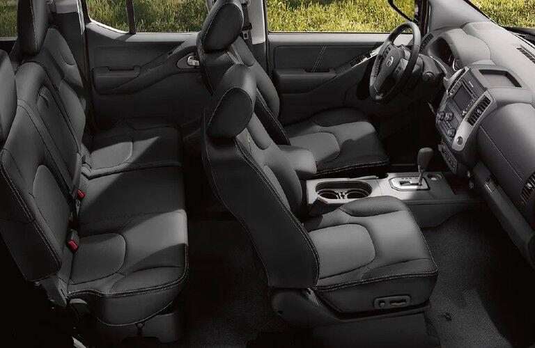 2021 Nissan Frontier seats