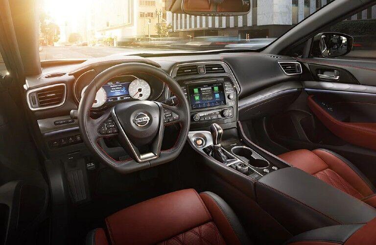 2021 Nissan Maxima 40th anniversary edition front seats