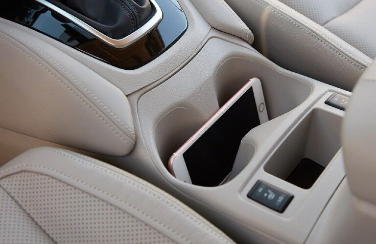 phone in 2021 Nissan Rogue Sport cupholder