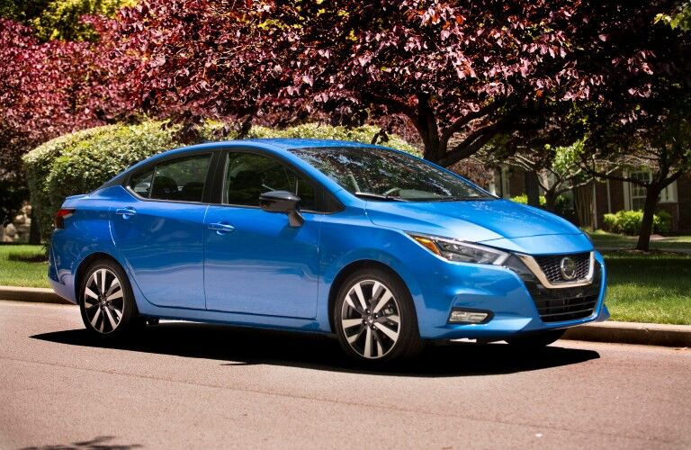 front view of the 2021 Nissan Versa