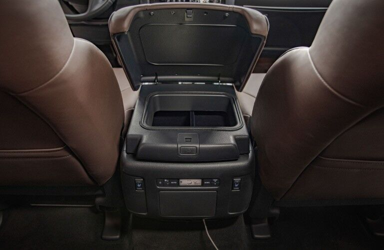 interior of the 2021 Nissan Armada