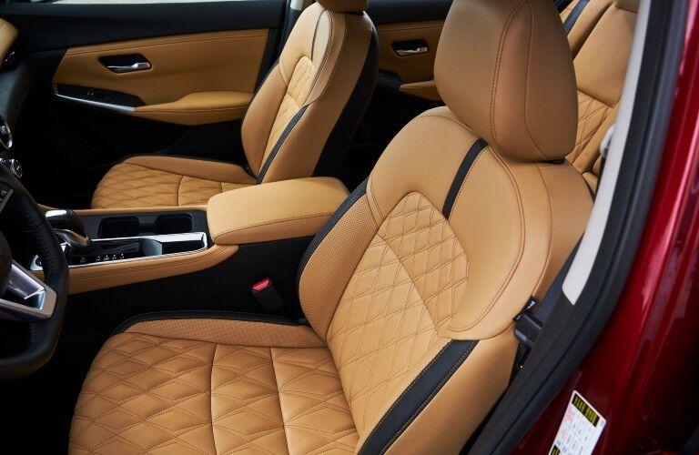 2021 Nissan Sentra seating