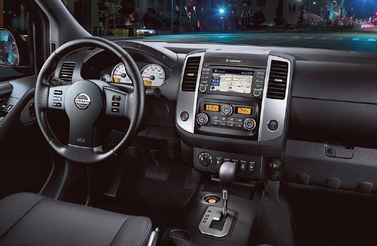2021 Nissan Frontier dashboard