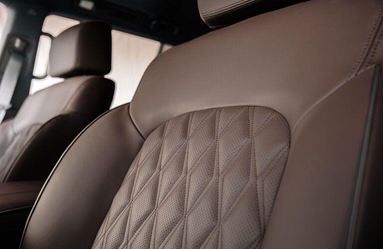 2021 Nissan Armada seating