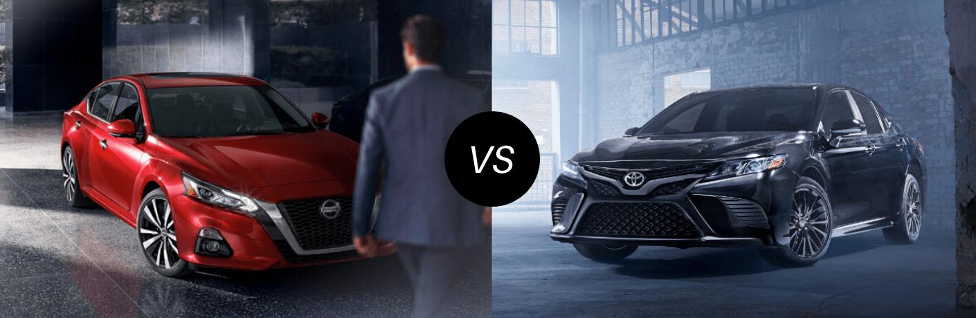 2020 Nissan Altima vs 2020 Toyota Camry