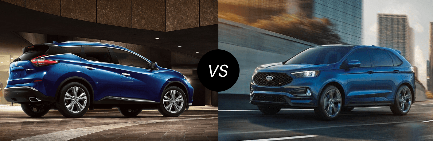 2020 Nissan Murano vs 2019 Ford Edge