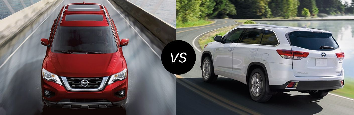 2020 Nissan Pathfinder vs 2019 Toyota Highlander