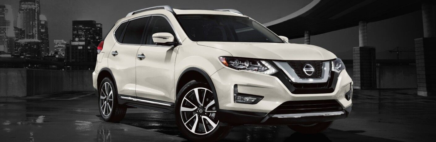 white 2020 Nissan Rogue