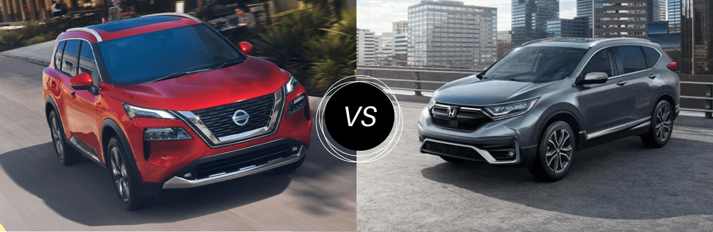 2021 Nissan Rogue vs 2021 Honda CR-V