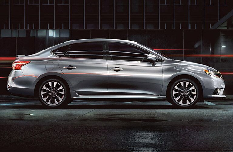side body view of 2016 nissan altima