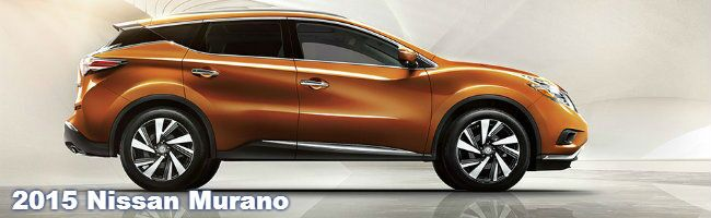 2015 nissan murano specs and features