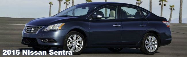 2015 nissan sentra information and specs