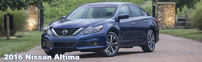 2016 nissan altima specifications and features
