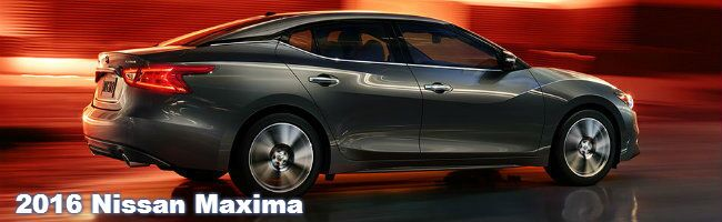 2016 Nissan Maxima specs and features