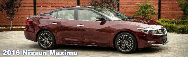 2016 Nissan Maxima specs